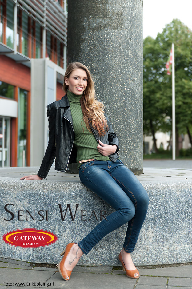 fotoshoot voor SensiWear en Gateway to fashion